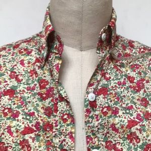 Steven Alan Floral Tina Button Up Shirt